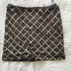 Forever 21 Sequence Mini Skirt NWT